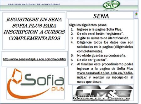 Procedimiento para Registrarse en el SENA